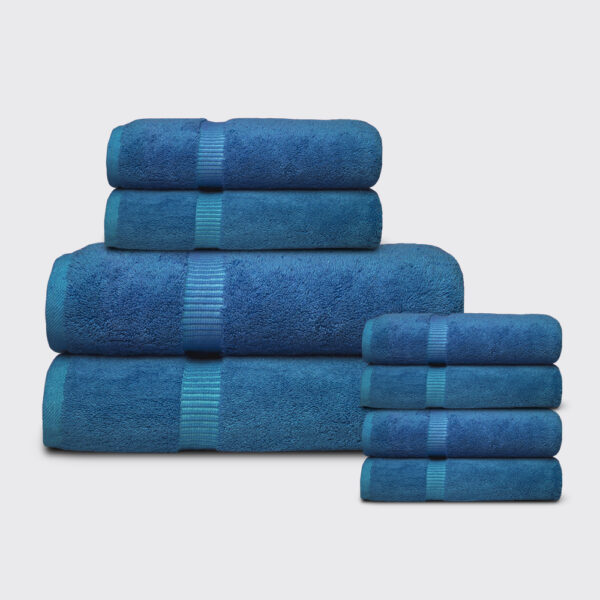 Blue Towel Stack