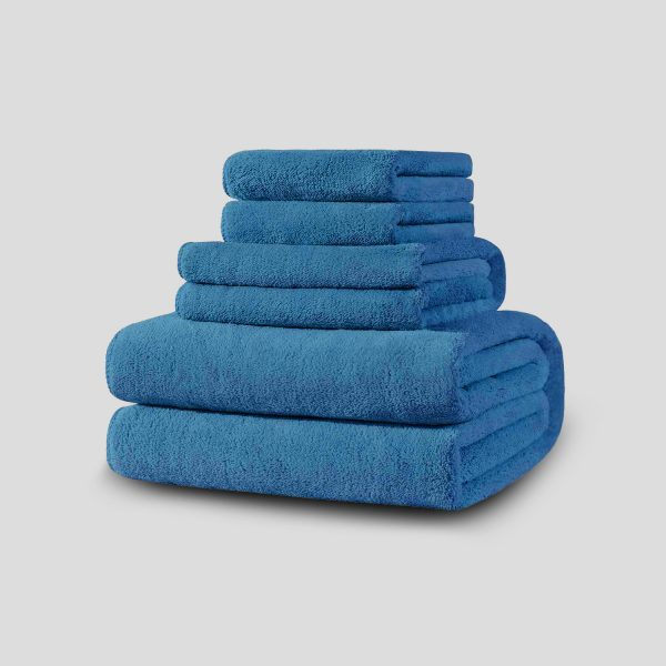 Towel Stack Blue