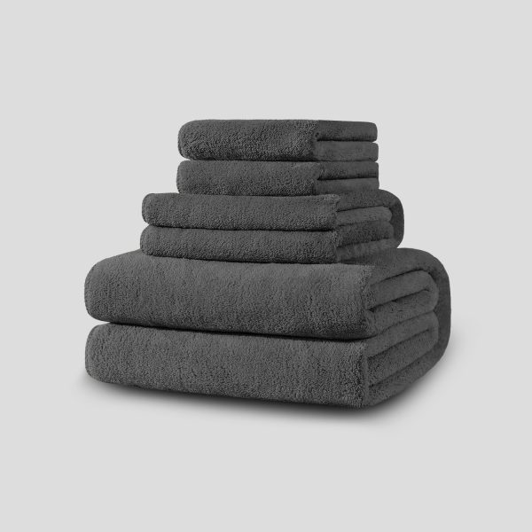 Towel Stack Grey