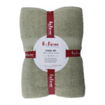 Sage Green Bath Towel Set 8