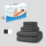 Gift Set 6 Piece Towel Set and Pillow Box